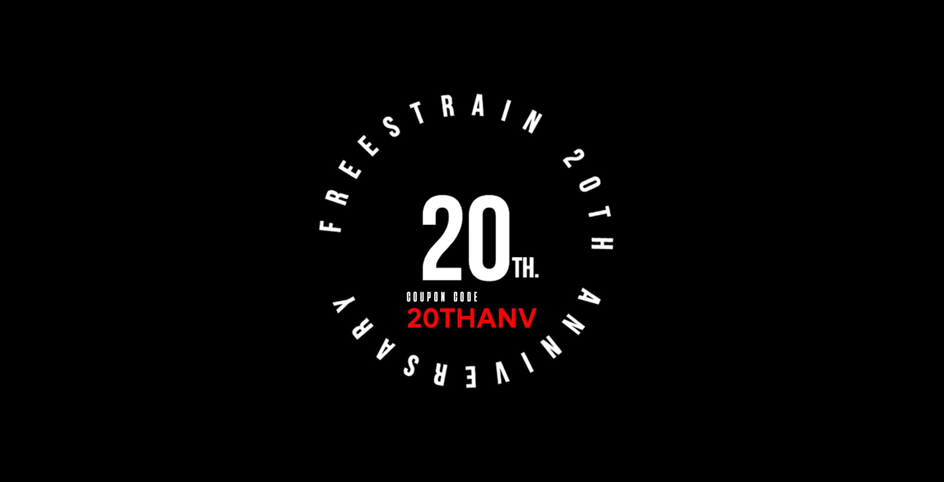 FreeStrain 20th Anniversary