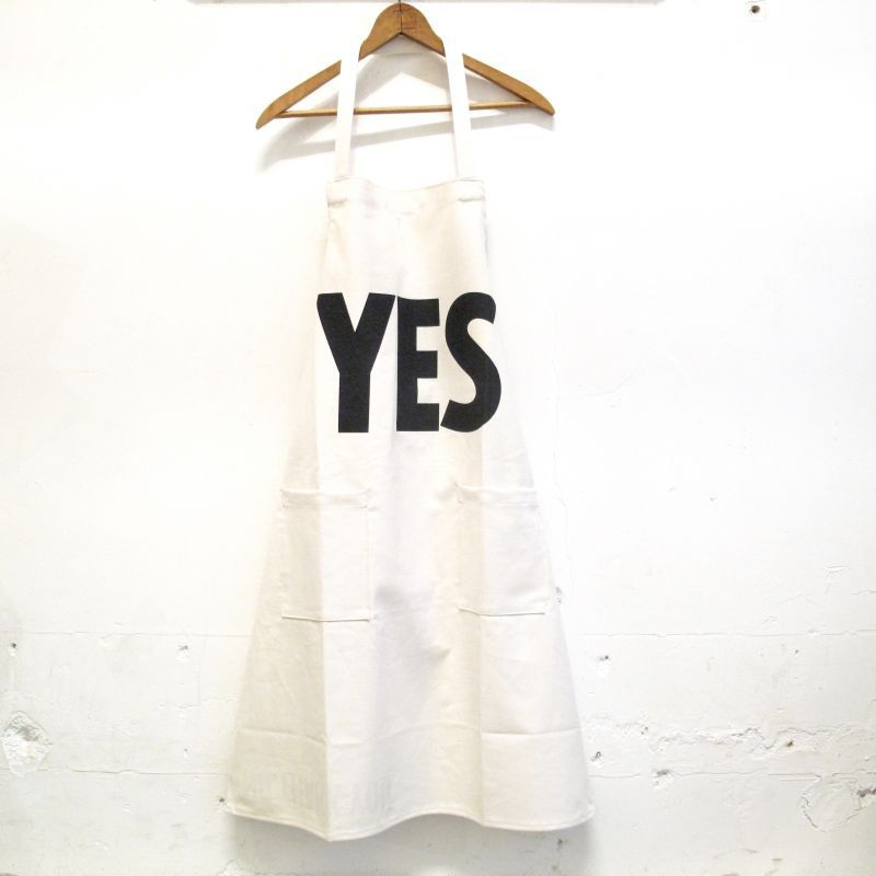 "DRESSSEN  DAY USE W POCKET APRON ""YES-NO THANK YOU"""
