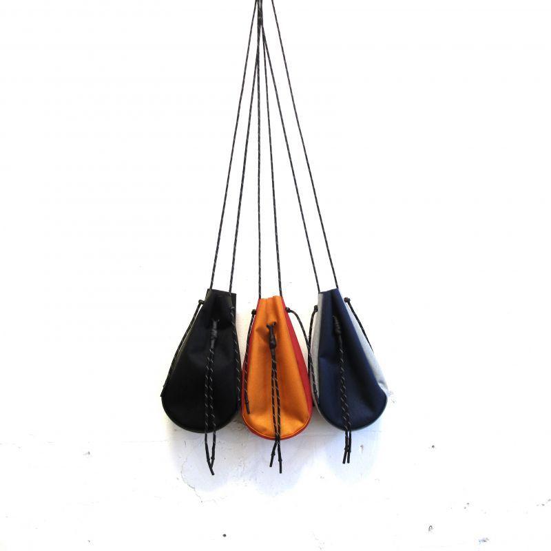 吉岡衣料店 drawstring bag S