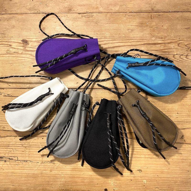 吉岡衣料店 drawstring bag XS