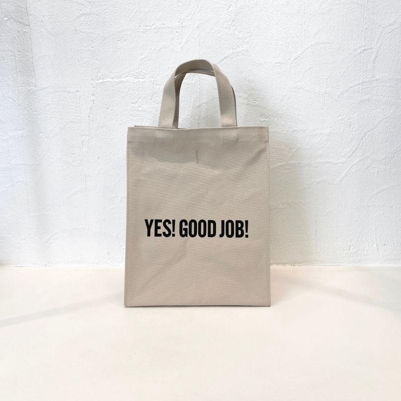 "DRESSSEN MARKET BAG SMALL ""YES!GOOD JOB! / DRESSSEN (SAND BEIGE COLOR)"